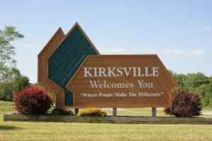 Kirksville Welcomes You Sign